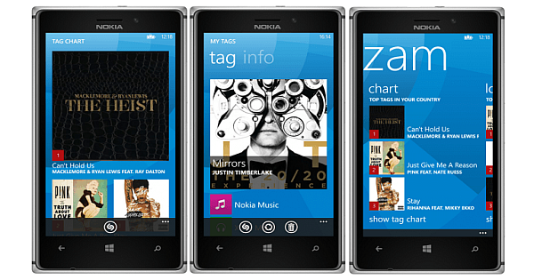 shazam for windows phone download